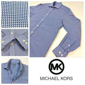 Michael Kors Regular Fit Dress Shirt 15-15.5 Neck